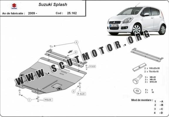 Scut motor metalic Suzuki Splash an