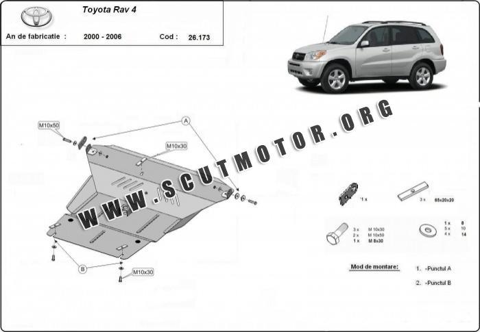 scut motor metalic toyota rav4  fabricat 2000