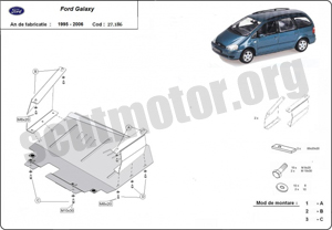 Scut motor metalic Ford Galaxy