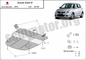 Scut motor Suzuki Swift III