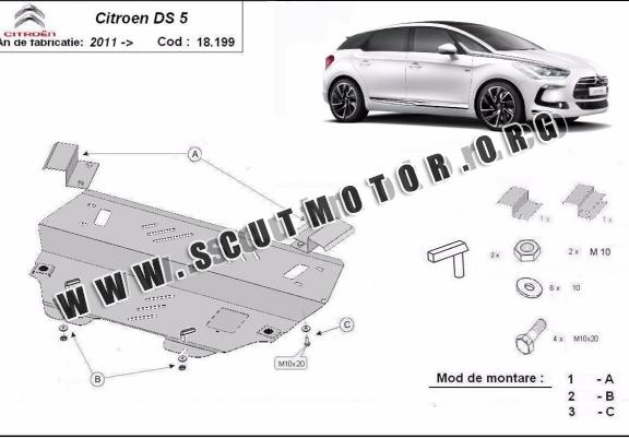 Scut motor metalic Citroen DS5