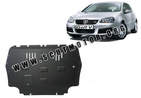 Scut motor metalic VW Golf 5